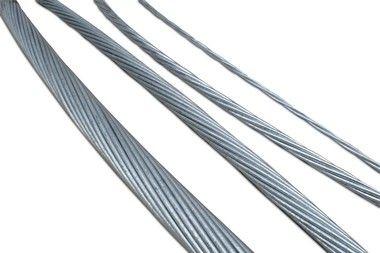Cordoalha de Aço Aluminizada 40% IACS HS (VENDIDO POR METRO)