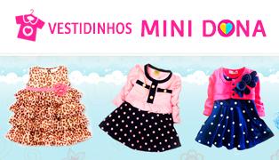 Vestidinhos Mini Dona