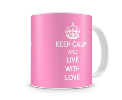 Caneca Keep Calm - Modelo 0002