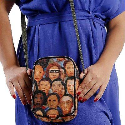 Shoulder Bag estampada