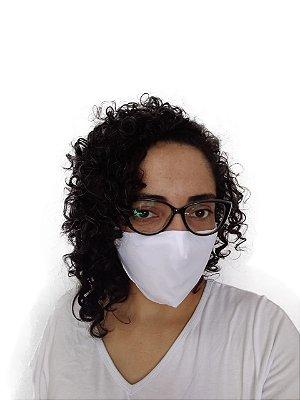 Máscara Tecido Branca