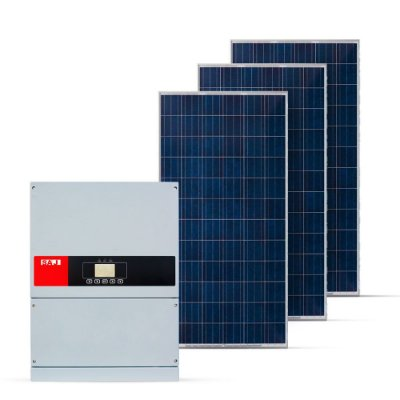 KIT GERADOR FOTOVOLTAICO SAJ SPIN SOLAR 49,50 KWP TRI 380V (40K/330W)