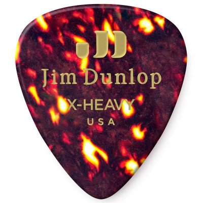 Palheta Dunlop 483 Standard Shell X-Heavy - 12 Unidades