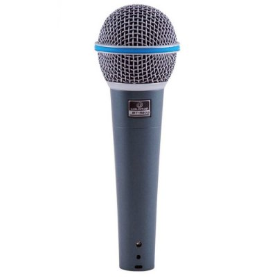 Microfone Dinâmico Waldman BT-5800 Premium Cardióide Broadcast Series