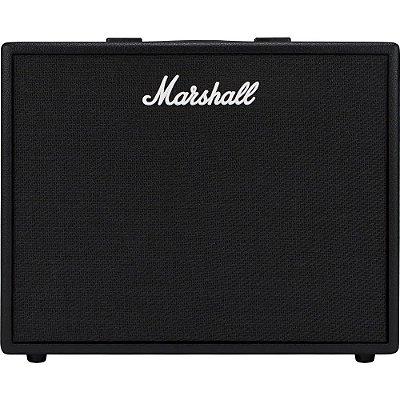 Amplificador Marshall Code 50 - combo para guitarra 50w 1x12 com efeitos