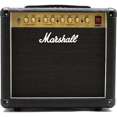 Amplificador Marshall DSL5CR - Combo valvulado para guitarra 5W 2 canais