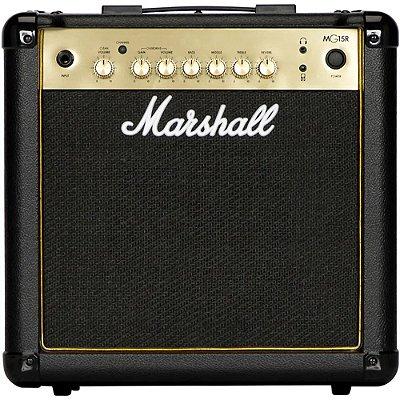 Amplificador Marshall MG15G Gold Combo para Guitarra 15w 1x8 com reverb