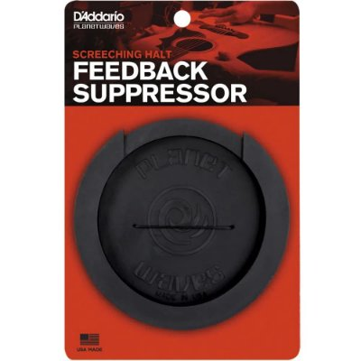 Anti Feedback D'Addario para Violão Folk Screeching Halt Feedback Supressor PW-SH-01