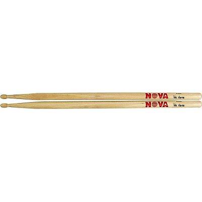 Baquetas Nova by Vic Firth 5B - ponta de madeira - par