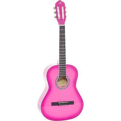 Violão Infantil Giannini N6 Pink - nylon acústico - N6-PK