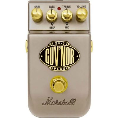 Pedal Marshall GV-2 Guv'nor Plus distortion