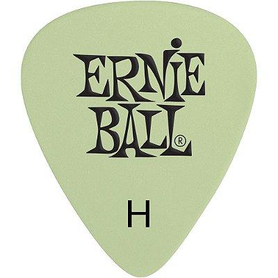 Palheta Ernie Ball 9226 Super Glow Pesada - Pacote com 12 un