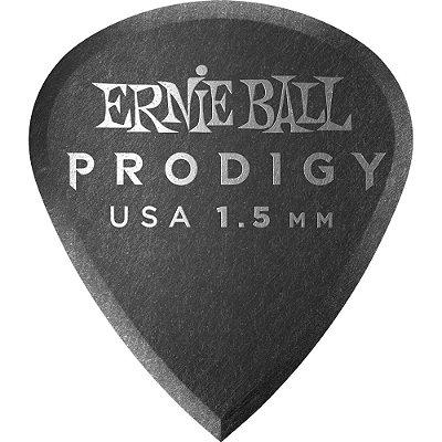 Palheta Ernie Ball 9200 Prodigy Mini 1.50mm - Pacote com 6 un