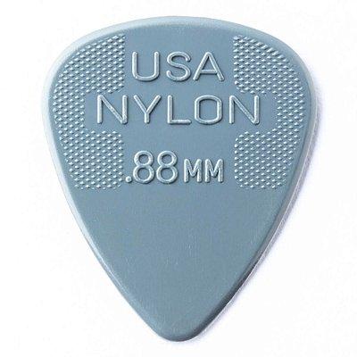 Palheta Dunlop 44R Nylon Standard 0.88mm - Unidade