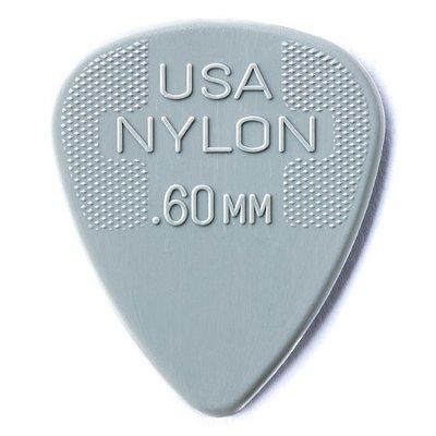 Palheta Dunlop 44R Nylon Standard 0.60mm - Unidade