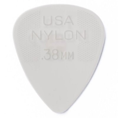 Palheta Dunlop 44R Nylon Standard 0.38mm - Unidade