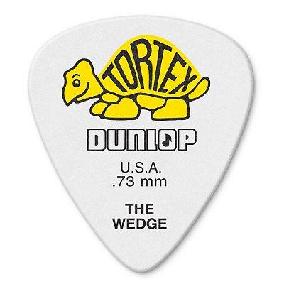 Palheta Dunlop 424-073 Tortex Wedge 0,73mm - Unidade