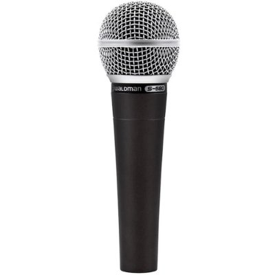 Microfone Dinâmico Waldman S-580 Cardióide