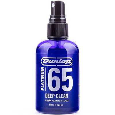 Limpador Profundo Dunlop Platinum 65 para Guitarra e Baixo 118ml P65DC4