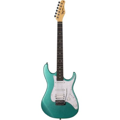 Guitarra Tagima TG-520 Metallic Surf Green HSS