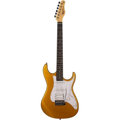 Guitarra Tagima TG-520 Metallic Gold Yellow HSS
