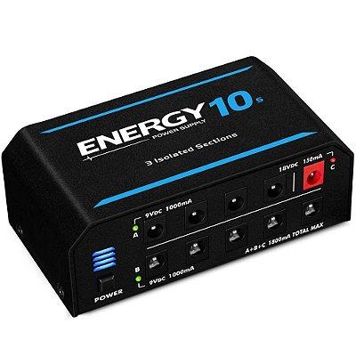 Fonte Landscape Energy E10s 1800mA para 10 pedais 9V 18V