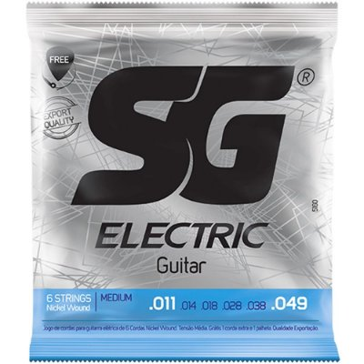 Encordoamento Guitarra SG 011-049 Medium
