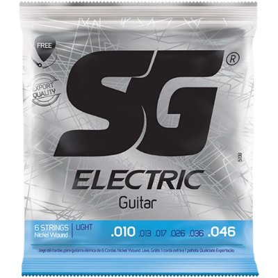 Encordoamento Guitarra SG 010-046 Light