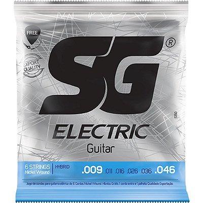 Encordoamento Guitarra SG 009-046 Extra Light Hybrid