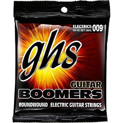 Encordoamento Guitarra GHS 009-042 GBXL Boomers Extra Light