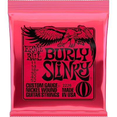 Encordoamento Guitarra Ernie Ball 2226 011-052 Burly Slinky