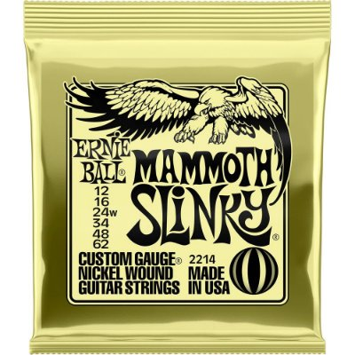Encordoamento Guitarra Ernie Ball 2214 012-062 Mammoth Slinky