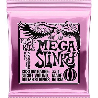 Encordoamento Guitarra Ernie Ball 2213 010.5-048 Mega Slinky