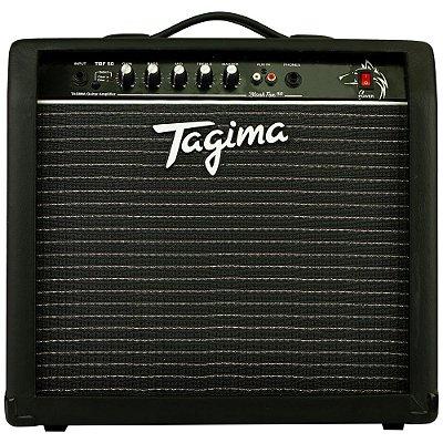 "Amplificador Tagima Black Fox 50 Combo para Guitarra 2ch 1x10"" 50w - TBF 50 - BK"