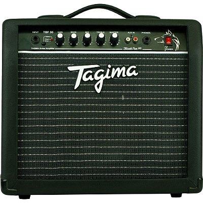 "Amplificador Tagima Black Fox 30 Combo para Guitarra 2ch 1x8"" - TBF 30 - BK"
