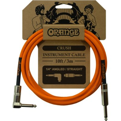 Cabo Orange CA035 Crush Instrument Cable 10ft 3,0m Reto - L