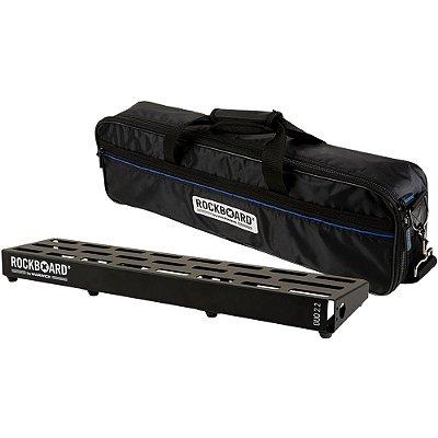 Pedalboard Rockboard DUO 2.2 62 x 14 cm com Bag - RBO B 2.2 DUO B
