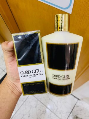 Kit Perfume e Hidratante Good Girl