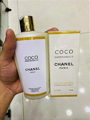 Kit Perfume e Hidratante Coco Mademoiselle