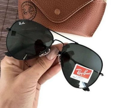 Óculos RB Aviador Preto