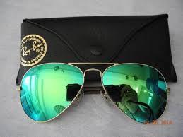 Óculos RB Aviador Verde Espelhado