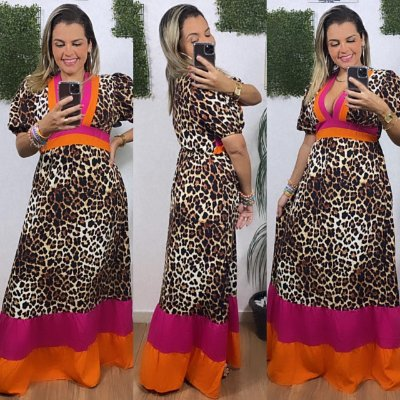 Vestido Animal Print Candy