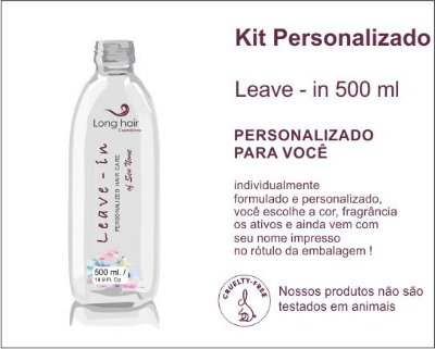LEAVE - IN 500 ml Personalizado