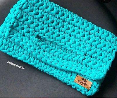 Clutch / Bolsa de mão  em crochê