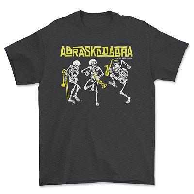Camiseta CAVEIRAS Mescla escura