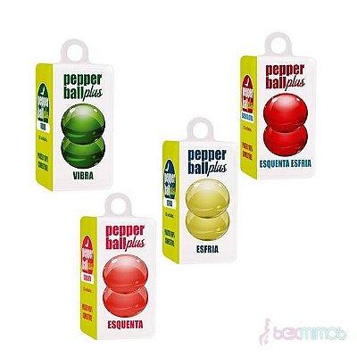 Pepper Ball Plus Dupla Esquenta/Esfria e Vibra
