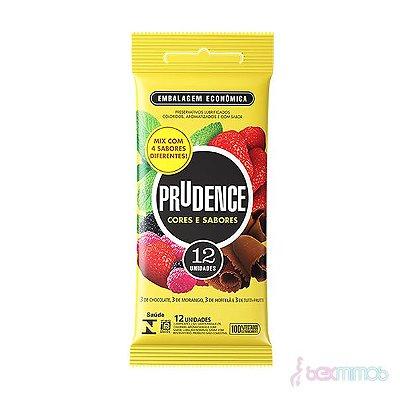 Preservativo Prudence Mix com 12 unidades (Camisinha)