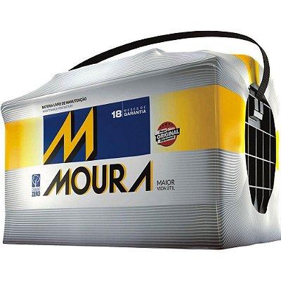 Bateria MOURA 50 Ampéres M50EX Caixa Alta
