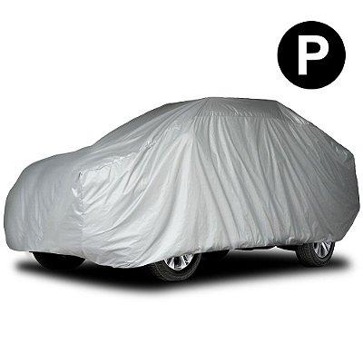 Capa para Cobrir Carro Impermeável com Forro Parcial Tamanho P Hatch Pequeno