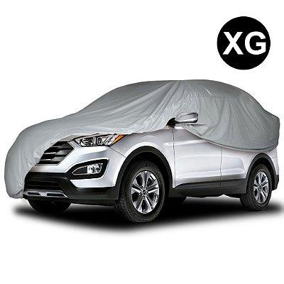 Capa para Cobrir Carro Impermeável com Forro Parcial Tamanho XG SUV